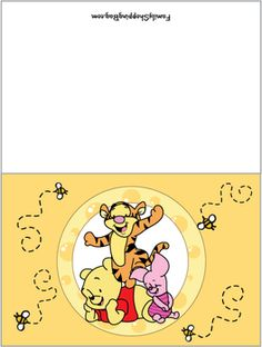 Card, Winnie The Pooh, Invitations - Free Printable Ideas from Family Shoppingbag.com
