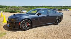 2016 Dodge Charger Scat Pack in Maximum Steel.