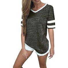 Damen T-Shirt Damenshirt  Oberteil Bluse Marine look  Top gestreift S XXXL