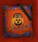 Tuck Pillow Ornament | Cyberstitchers Cross-Stitch Picture Gallery