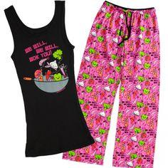 We Will Wok You Pajama Set - Pajamas - Women