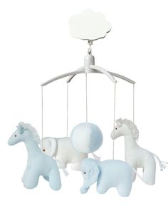 Mobile musical Giraffe, Eléphant rose et blanc Elephant Bleu, Musical Mobile, Little Boy Blue, Baby Mobile, Expecting Baby, First Baby, Girl Room, Baby Love, Baby Shop