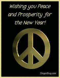 Wishing you Peace and Prosperity for the New Year!