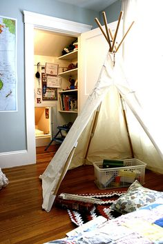 ..Need to make a tipi!