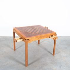 Large Coffee Tables, Mid Century Modern Design, Table Games, Outdoor Furniture, Outdoor Decor, Midcentury Modern, Teak, Interiors, Rustic