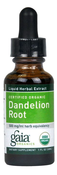 Liver & Gall Bladder support/detox Gaia Herbs Organic Dandelion Root