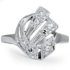 The Ebba Ring #BrilliantEarth #Vintage