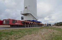Mammoet towers ahead in turbine move