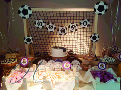 Mesa de dulces - Sweet Table - Candy Bar Real Madrid