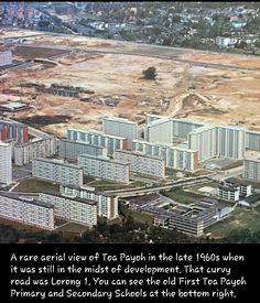 Taken from Nostalgic Singapore - Toa Payoh in the late 1960s