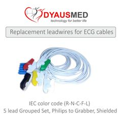 5 lead Grouped Set, Philips to Grabber, Shielded, IEC color  code (R-N-C-F-L)  scorpia sales & service carnival 2015