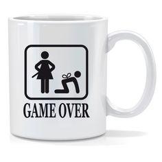 Tazza personalizzata Game over