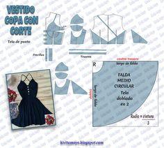 KiVita MoYo: CUTTING DRESS WITH CUTS - #cuts #cutting #Dress #KiVita #MoYo Dress Sewing Patterns, Sewing Patterns Free, Clothing Patterns, Diy Clothing, Sewing Clothes, Fashion Sewing, Diy Fashion, Sewing Hacks, Sewing Tutorials