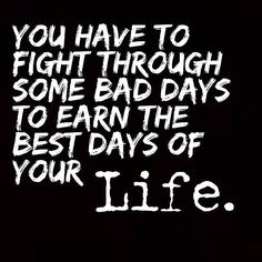 Stay strong and have patience...