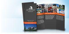 Vistaprint Brochures // more expensive then Bay Photo tri fold...
