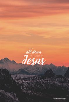"Click images to preview and download. Listen to song here > [Worship wallpaper designed from ""Lay it All Down"" United Pursuit feat. Will Reagan for your phone screen, laptop wallpaper, and…"