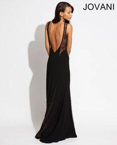 Backless sexy Jovani dress