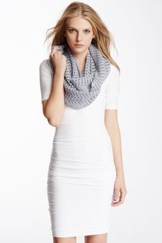 James Perse SALE: Cashmere Open Stitch Infinity Scarf : Love it! HONEYMOON OUTFIT!