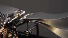 @MB&F + BOB POTTS : Flying high with Kinetic sculptures ••• LES SCULPT...