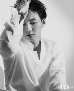Actor Yoon Shi Yoon posed for 'SINGLES' magazine. He effortlessly appeals to the viewers with his gaze and poses. Dramas, Dong Gu, Yoon Shi Yoon, Ahn Hyo Seop, Fine Boys, Cha Eun Woo, Kdrama Actors, Korean Entertainment, Flower Boys