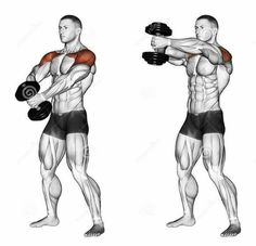 Resultado de imagen de shoulder training - Tap the pin if you love super heroes too! Cause guess what? you will LOVE these super hero fitness shirts! Gym Workout Tips, Dumbbell Workout, Fitness Workouts, Fun Workouts, Deltoid Workout, Workout Plan For Men, Workout Videos, Training Fitness, Weight Training