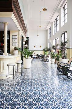 Work for Amtrade Hotel Casco Viejo, Panamá. By Alicia Macias