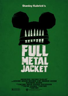 STANLEY KUBRICK - FULL METAL JACKET - Alternatvie Poster by Federico Mancosu
