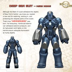"Iron Man's Hall of Armor: Mark XXXVII - ""Hammerhead"""