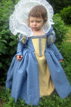 Renaissance Gown Custom Princess Heirloom Girls Dress. , via Etsy.