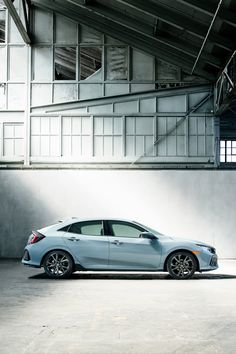 Every 2017 Honda Civic Hatchback sports a large hatch compartment perfect for weekend getaways.