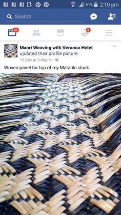 Veranoa Hetet Maori Designs, Textiles Techniques, Basket Weaving, Baskets, Fabric, Art, Handbags, Weaving, Tejido