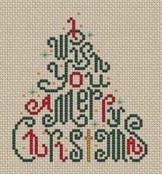 Zo vlak voor de feestdagen is er nog een stortvloed van schattige, leuke borduurpatroontjes voor Kerst verschenen die ik jullie niet wil ont...