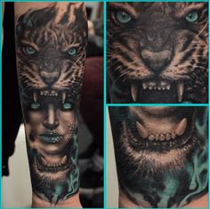 Typically tattoo artists work in either black and grey or color and are known for their smooth grey transitions or amazing color palettes. When it comes to tattooistPiotr Ćwięk, however, it's all...