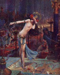 Gaston Bussière - La danse de Salomé, 1914