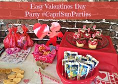 If you'd like to host a Valentine's Day party, check out these ideas that are easy, quick, and very budget-friendly! Plus a great V-Day craft tutorial!