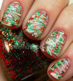 Los 10 mejores diseños de uñas | Navidad a la moda