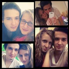 This is Tolunay (from Turkey) and Anamaria (from Romania). They have finally met after 9 months of dating. Congrats!