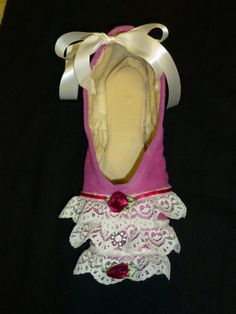 Decorative pointe shoe  victorian by PointePerfection1 on Etsy, $15.99