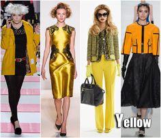 Fall 2013 Trend: Yellow