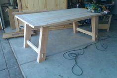 diy farmhouse table.