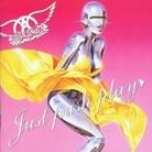 Aerosmith Just Push Play Album Cover, Aerosmith Just Push Play CD Cover, Aerosmith Just Push Play Cover Art Rock And Roll, Ehime, Steven Tyler Aerosmith, Rock Album Covers, Pochette Album, Cd Album, Concert Posters, Music Posters, My Favorite Music