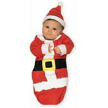 Santa Claus Bunting Costume - Infant Size 0-6 months