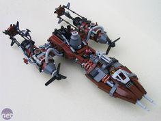Steampunk Lego Sci fi