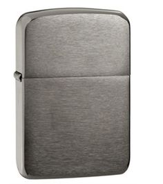 Classic Black Ice Zippo Lighter  Thank your groomsmen with a personalized Zippo lighter. Zippo's Black Ice® lighter features sleek black finish that is the perfect gift to say thank you to everyone in your groomsmen party. Add initials, names, dates, or a message to make this lighter a memorable piece. Zippo's Black Ice® lighter is suitable for gift giving in its environmentally friendly gift box and comes with a lifetime guarantee