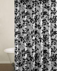OFF Josie Bath Coordinate Fun Black And White Floral Shower - Black and white floral bath mat for bathroom decorating ideas
