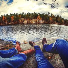 Find your quiet place. #timberland #outdoors #inmyelement