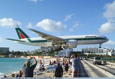 Princess Juliana International Airport is also one of the most dangerous…