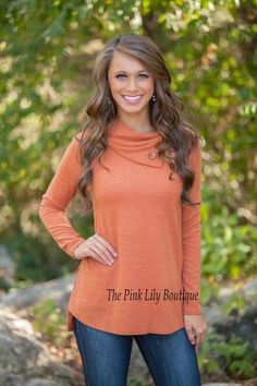 The Pink Lily Boutique - Button Me Up Rust Sweater , $36.00 (http://thepinklilyboutique.com/button-me-up-rust-sweater/)