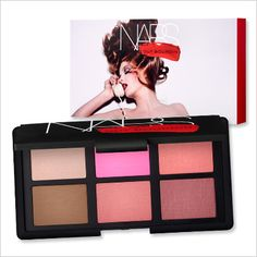 See the Entire Guy Bourdin-Inspired Collection by NARS - One Night Stand Palette from #InStyle