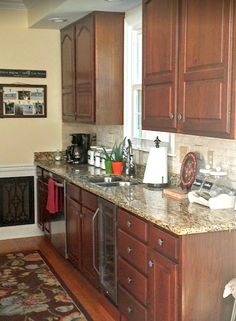 She made 1 budget change to her kitchen, but the end is SO dramatic